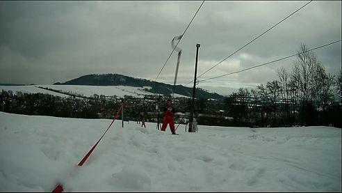Lyžařské závody na Polďáku