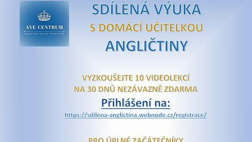 Sdílená výuka angličtiny v naší obci