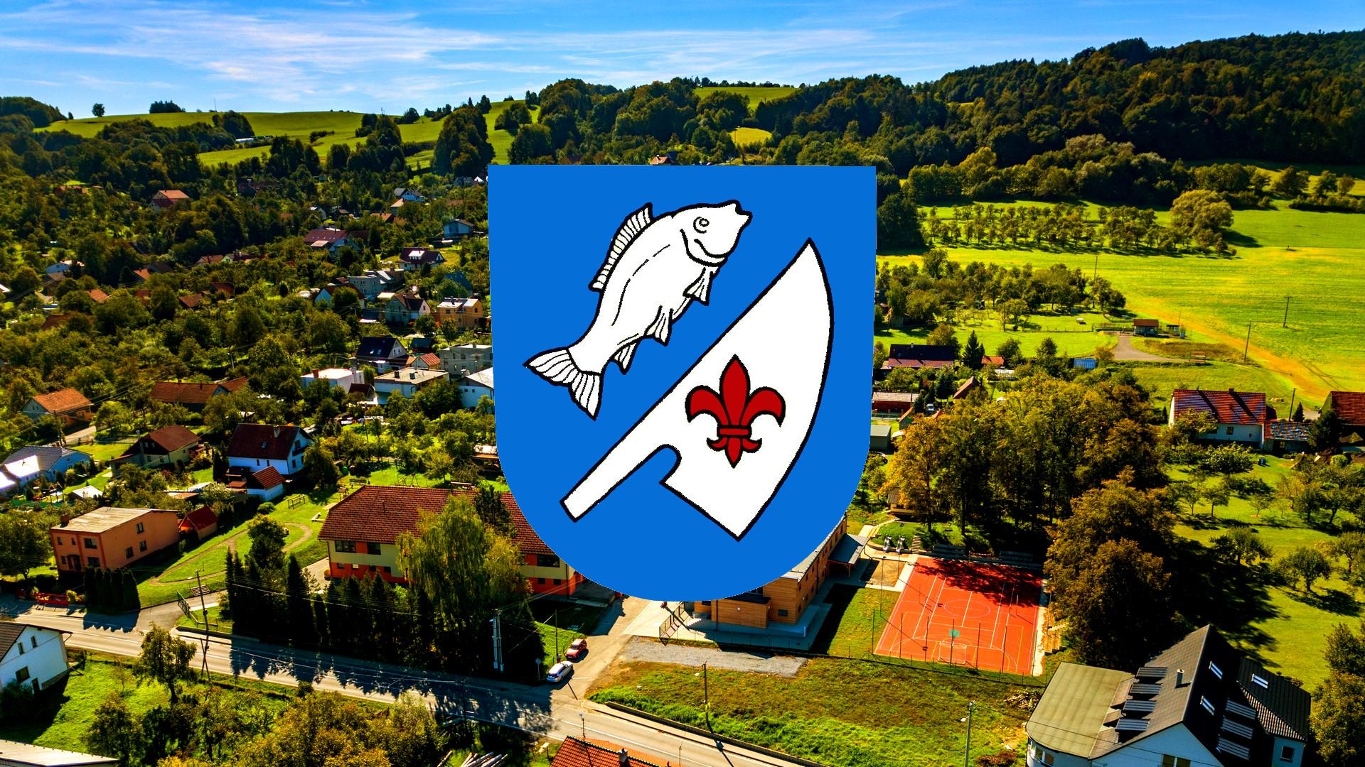 Obce2016.cz - Znak obce Rybí