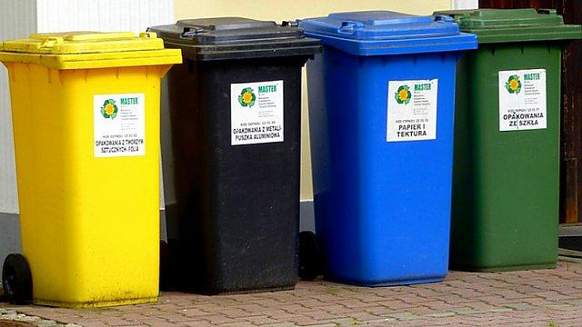 Připomínka k možnosti třídění odpadů z domácností