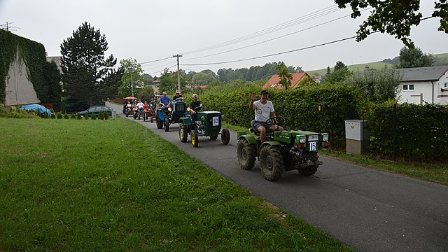 Traktoriáda 2. ročník - v Rybí 27.8.2016