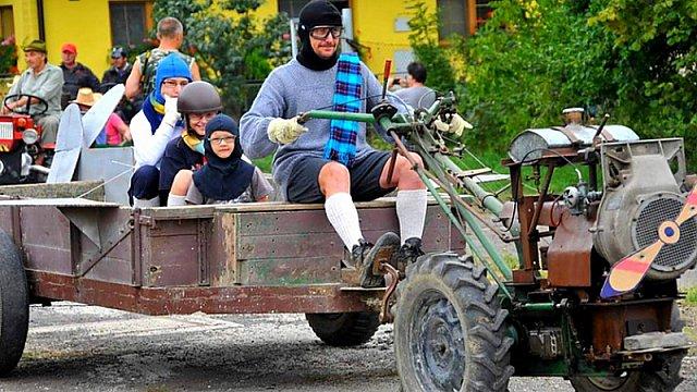 Traktoriáda 2015:  1. ročník závodů (malo)traktorů v obci Rybí