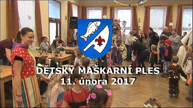 Dětský maškarní ples 11.2.2017