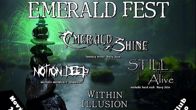 Pozvánka na minifestival Emerald Fest