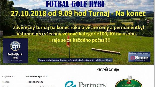 Fotbal Golf Rybí - Závěrečný turnaj