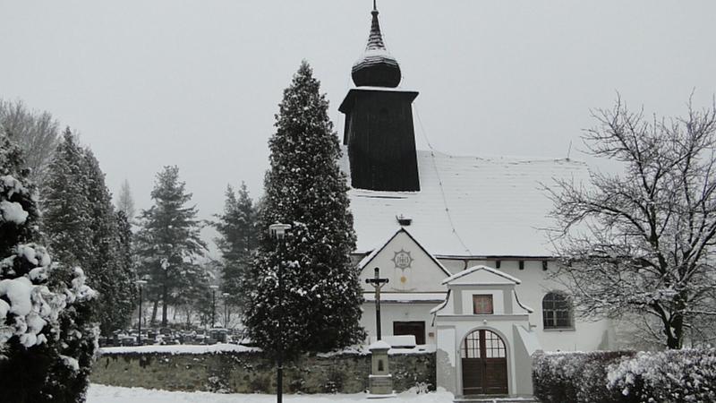 Lukáš Unger - Kostel v zimě